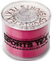 SPORTS TEX Kinesiologie Tape 5 cmx5 m pink